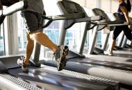 Kegiatan fitness di gym