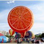 Serunya Lihat Beragam Bentuk Balon Udara di Festival
