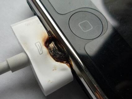 Bahayanya gunakan charger iphone palsu