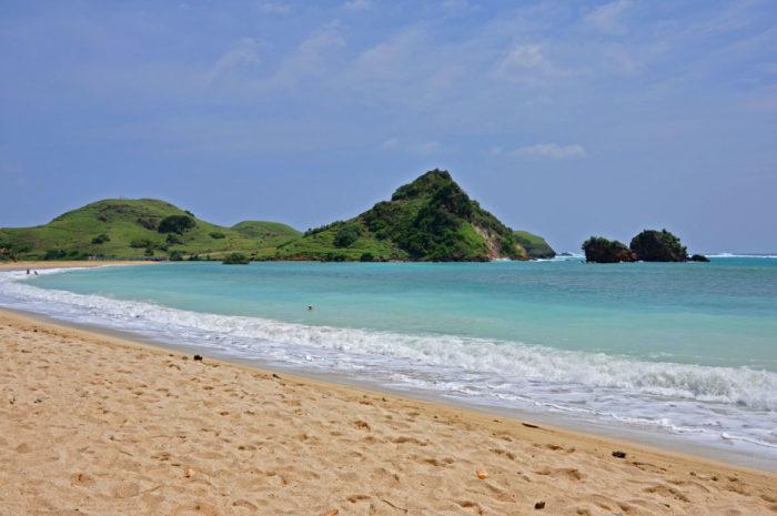 Pasir di Kuta Lombok