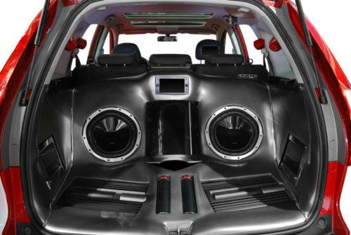 sistem audio untuk mobil