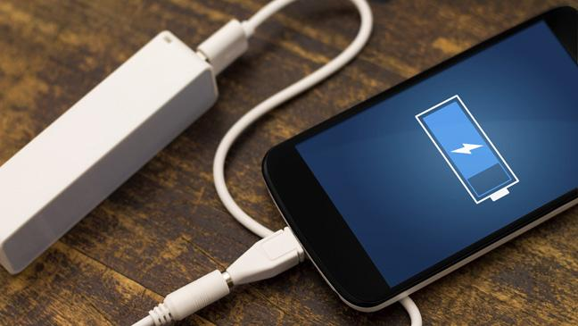 cara cepat isi baterai handphone