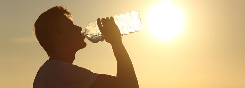 Menghindari heat stroke